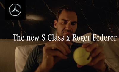 Roger Federer and Mercedes