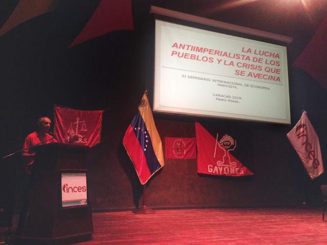 Realizado en Caracas XI Seminario Internacional de Economía Marxista