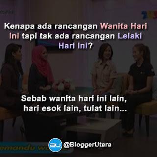 quote, lelaki vs perempuan