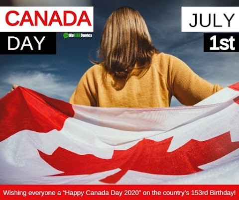 [Exclusive] Happy Canada Day 2020 Images, Poster & Pictures