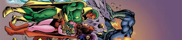 Review del cómic Los Vengadores: La Visión y la Bruja Escarlata - Panini Cómic