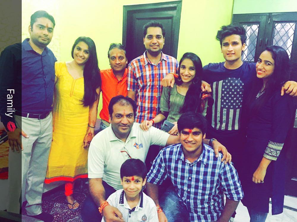 Hunny Sharma Family