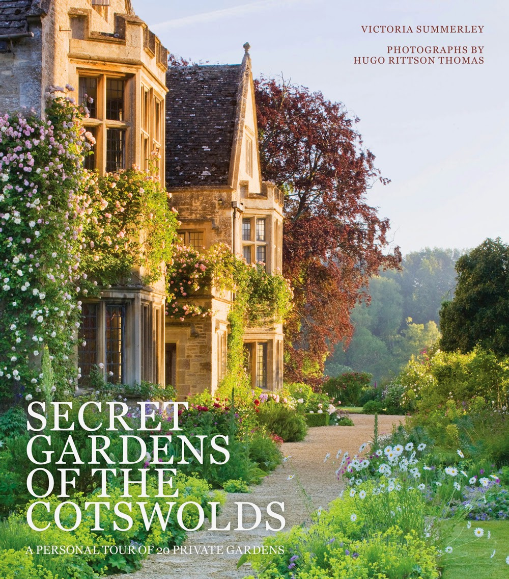 Secret Gardens of the Cotswolds book cover