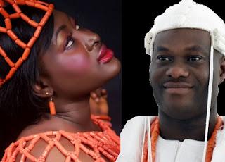Princess Bukola Fasuyi and Ooni of Ife
