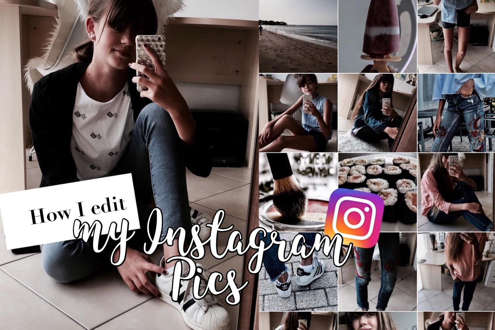 Wie ich meine Instagram-Bilder bearbeite [+Tipps