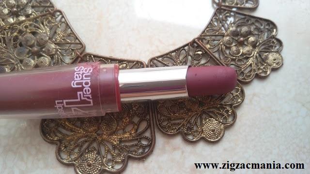 Maybelline Super Stay 14 Hr Lipstick (Always Plum) Review