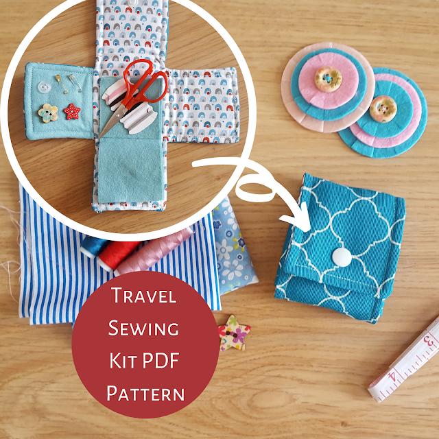 Travel Sewing Kit DIY Pattern