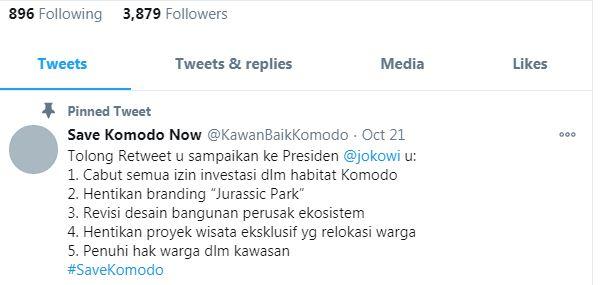 Komodo Viral di Twitter Kenapa?