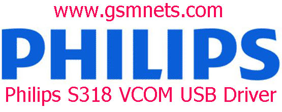 Philips S318 VCOM USB Driver Download