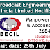 Broadcast Engineering Consultants India Limited Recruitment 2019
