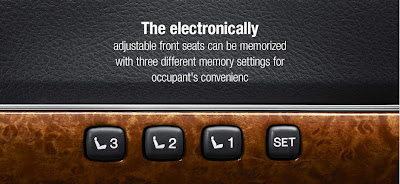 electronical adjustment seats