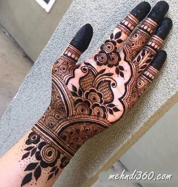 Front Hand Mehndi Design for All