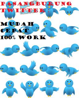 Cara Membuat / Memasang Burung Twitter Di Blog.