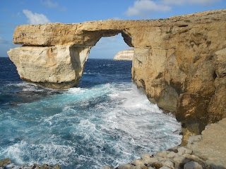Azure Window Gozo. Photograph by Janie Robinson, Travel Writer