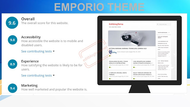 emporio template re-design