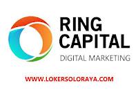 Loker Solo Staff Digital Sales dan Staff IT di Ring Capital