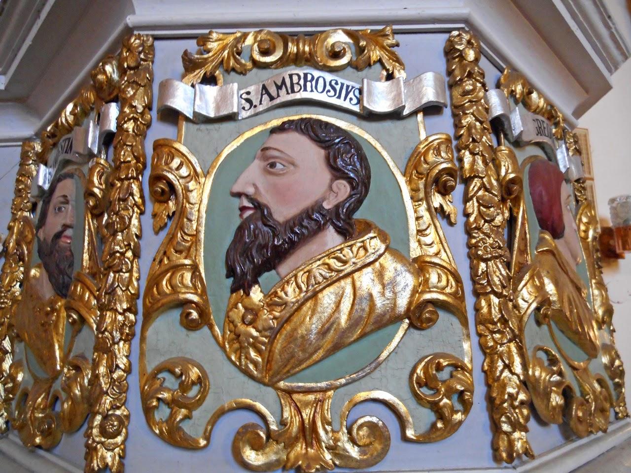 rzeźba, złoto, wyposażenie kościoła, sztuka