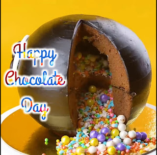 Chocolate Day photo frame