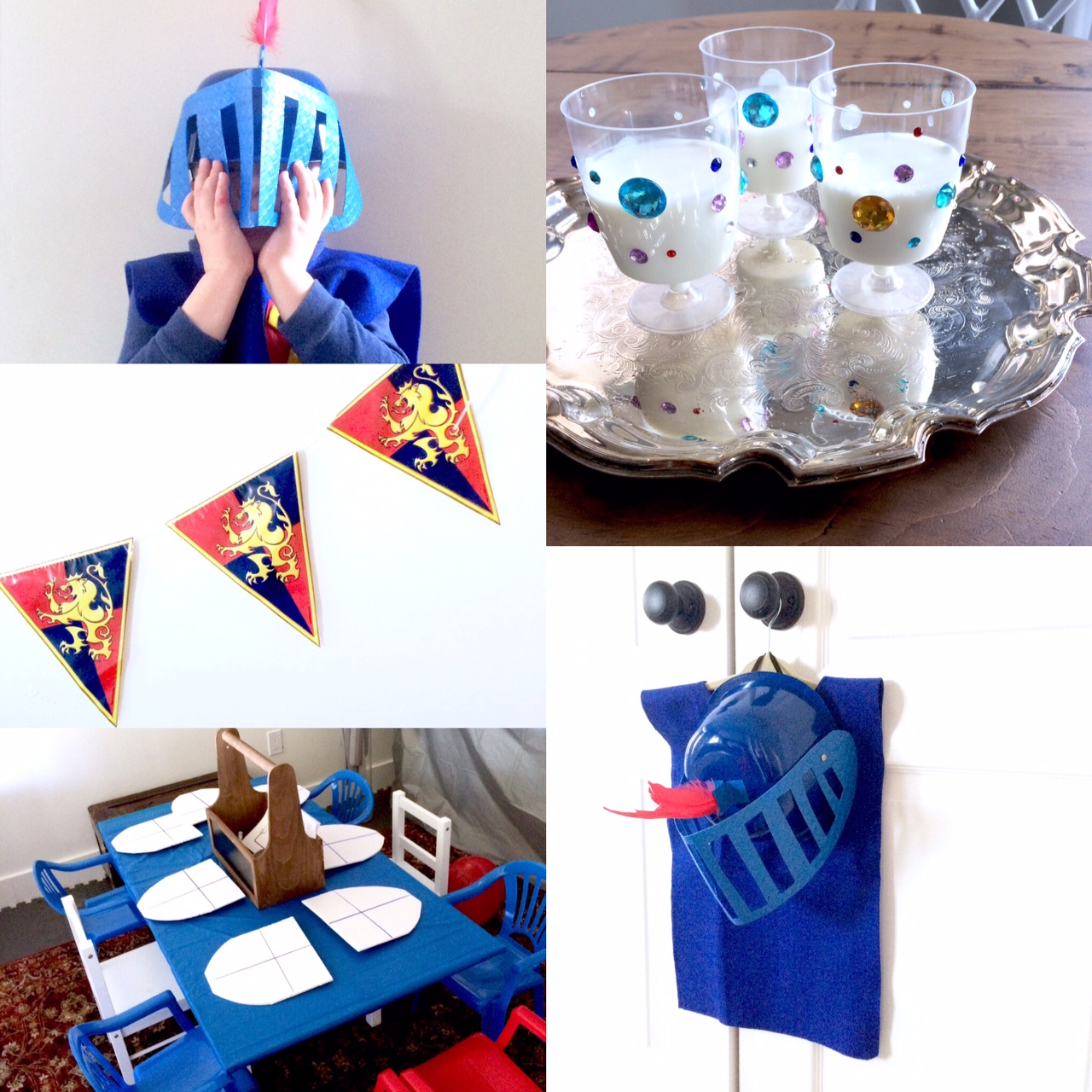 Knight Theme Birthday Party Ideas | Harlow & Thistle - Home Design ...