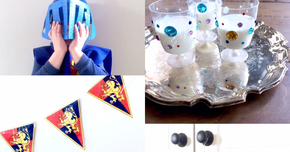 Knight Theme Birthday Party Ideas Harlow Amp Thistle