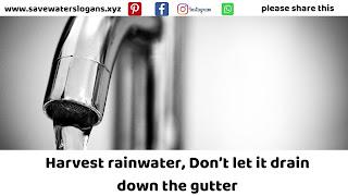 save water slogans 5