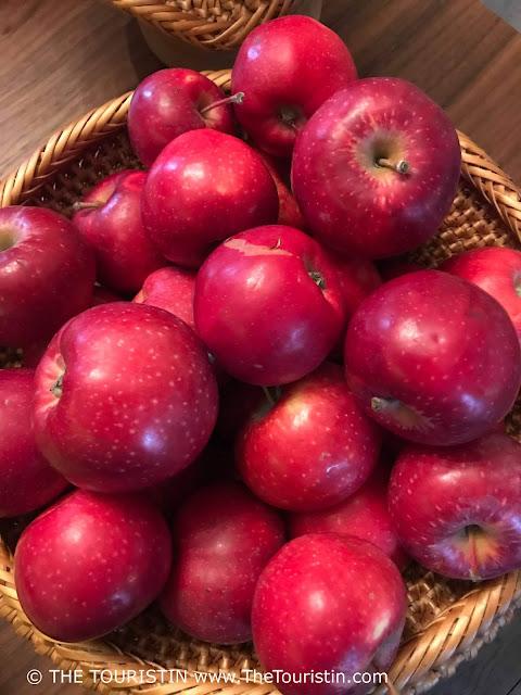 Maja. Kalnciema iela 37-5, Zemgales priekšpilsēta, Rīga, , Latvia. red apples