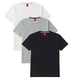 Men's Basic T-shirts (pack of 3)
