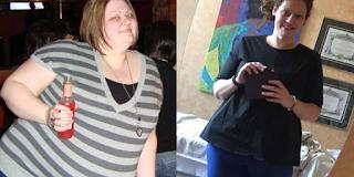 Γυναίκα έχασε 68 κιλά σε δύο χρόνια μόνο με 3 πράγματα που της είπε διατροφολόγος - ΕΙΚΟΝΕΣ