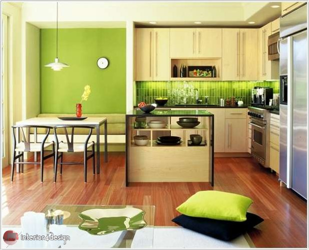 Colorful Kitchen Designs 5