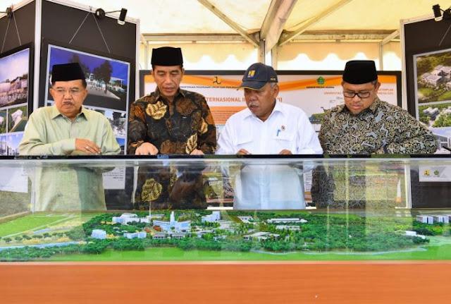 Tularkan Islam Wasathiyah Khas Indonesia Presiden Jokowi Telah Membangun UIII