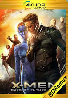 X-Men : Días del Futuro Pasado (2014) [1080p 4K REMUX ] [Latino-Inglés] [LaPipiotaHD]