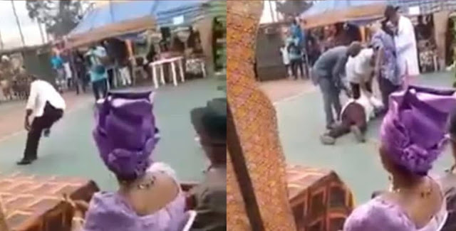Man dies while dancing at an event in Rivers state (video)