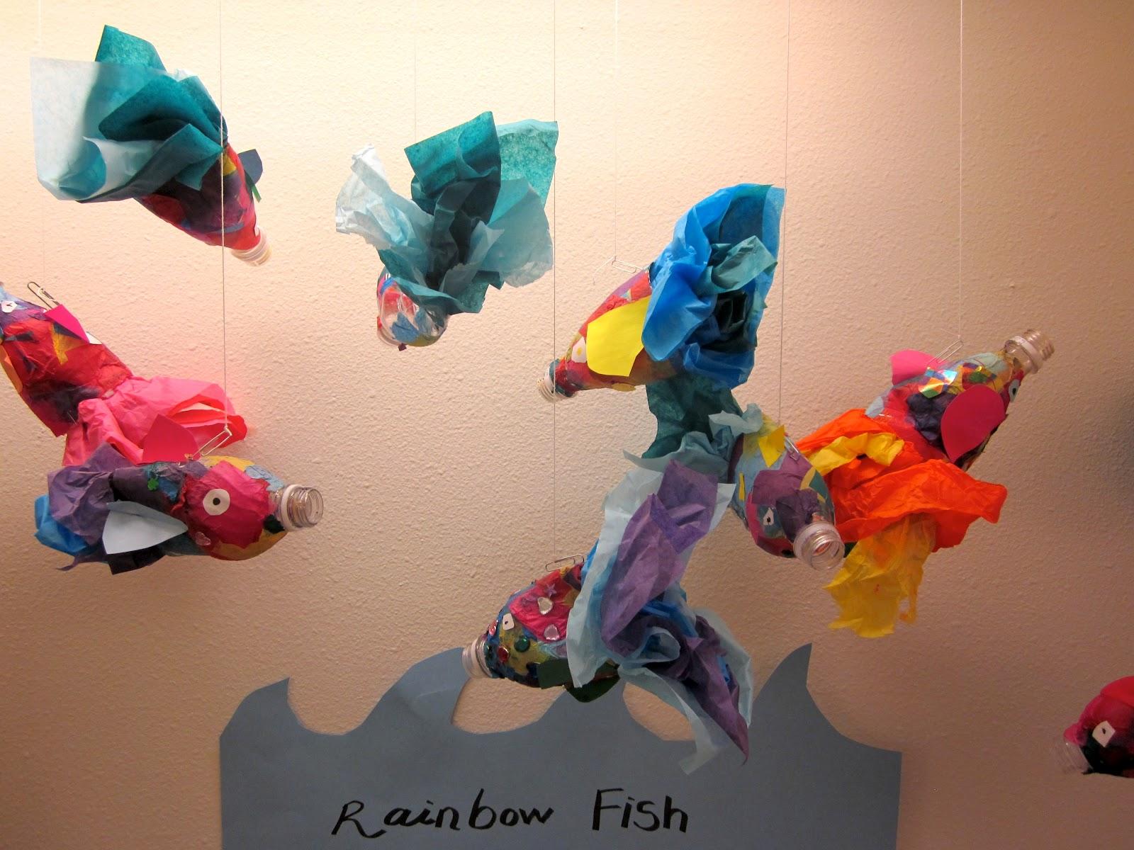Art Is Basic Art Teacher Blog Kindergarten Rainbow Fish