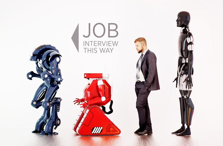 Human, Robot, Artificial Intelligent