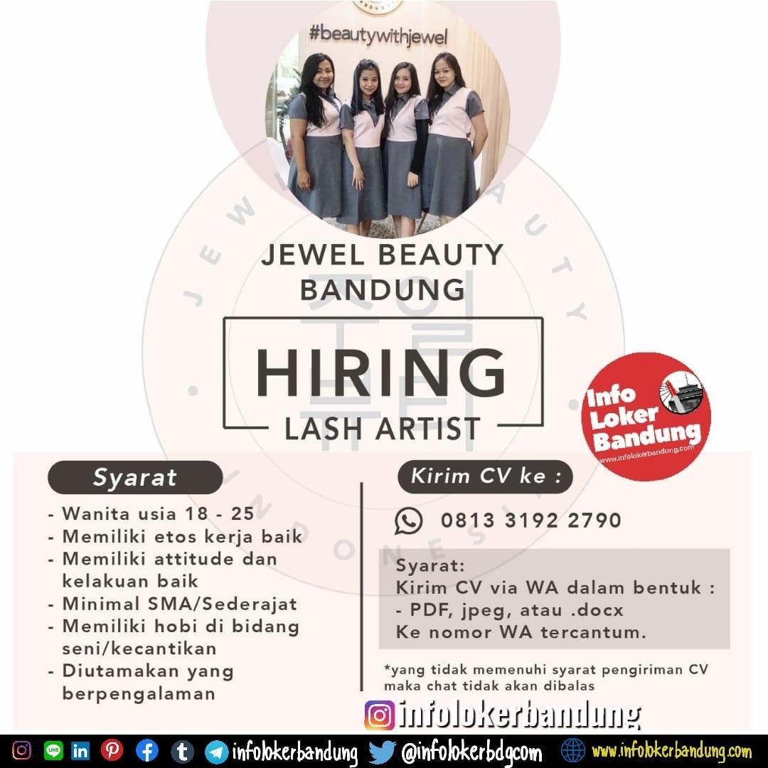 Lowongan Kerja Lash Artist/Beautician Jewel Beauty Bandung Februari 2020