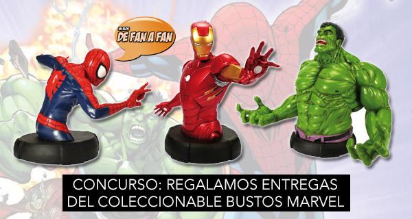 Concurso Bustos Marvel Altaya