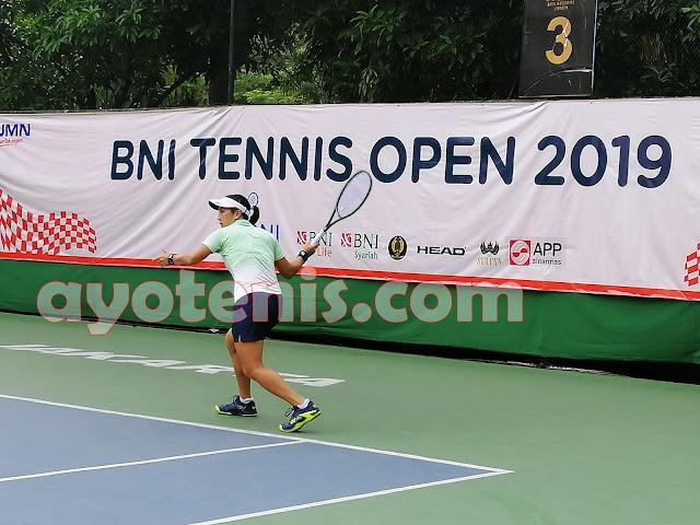 Aldila Melenggang ke Perempat Final Tennis Open di Jakarta