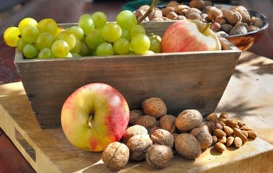 fruits pour le mois d'octobre