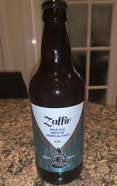 Zaffir Pale Ale Stonehousebeer