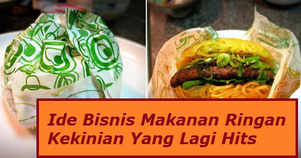 Ide Bisnis Makanan Ringan Kekinian Yang Lagi Hits ...