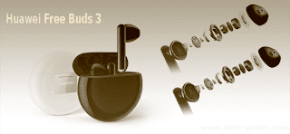 اقتناء سماعات هواوي فري بودز 3 ( Huawei Free Buds 3 ) | سماعات الجيل الثالث من هواوي