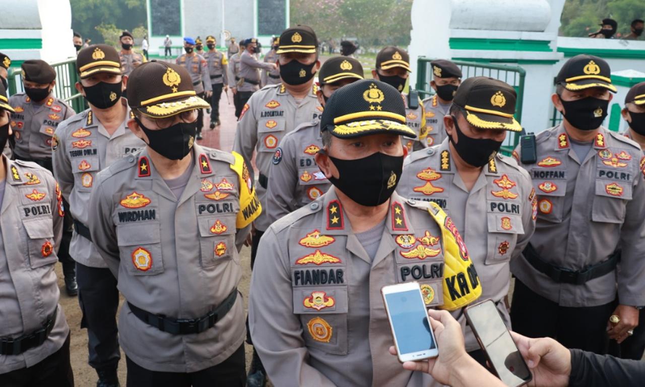 Kapolda Banten Polri Jamin Keamanan Saat Libur Panjang Dan Perketat Prokes Jurnal Media Indonesia