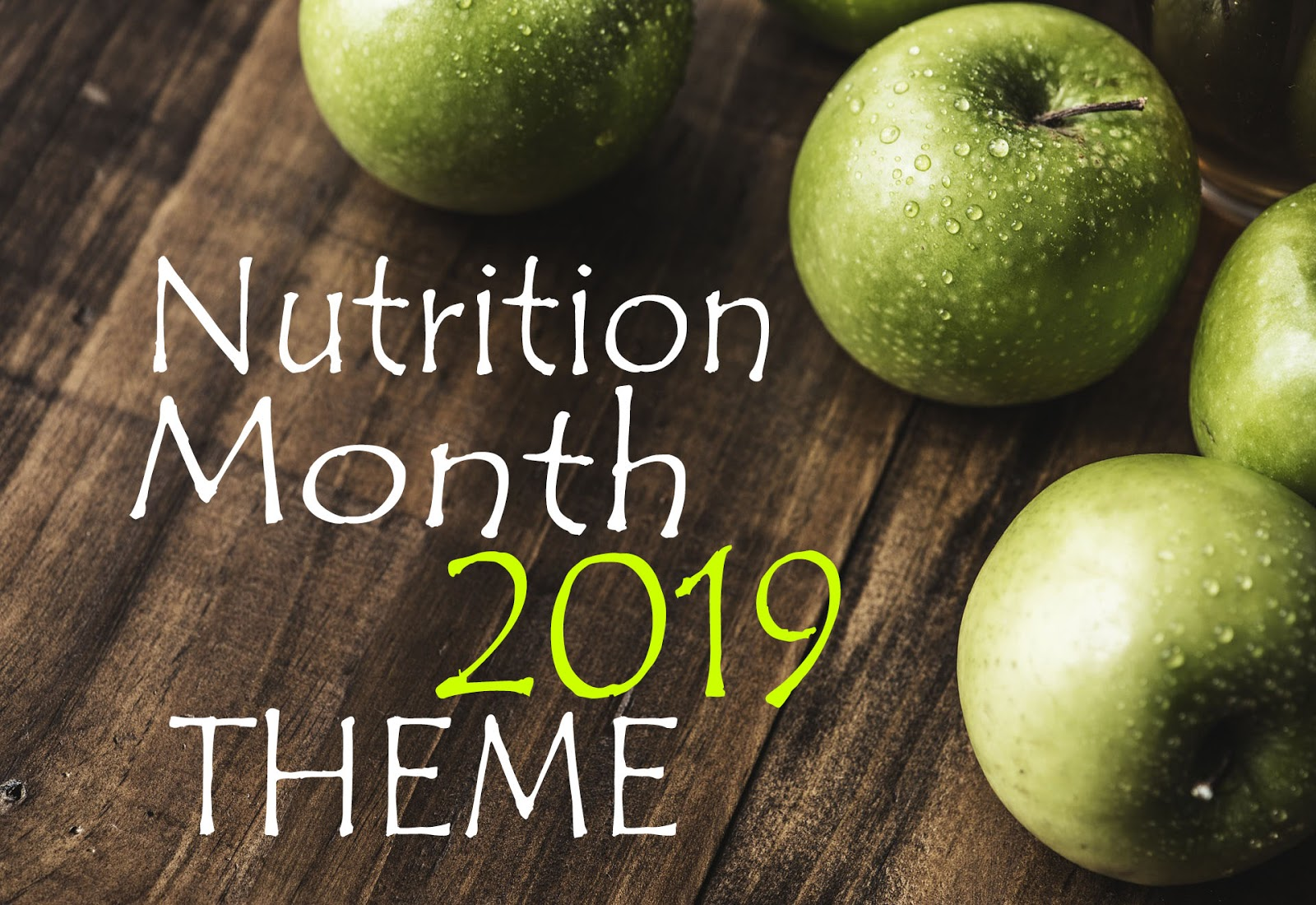 nutrition month 2019 theme in the philippines