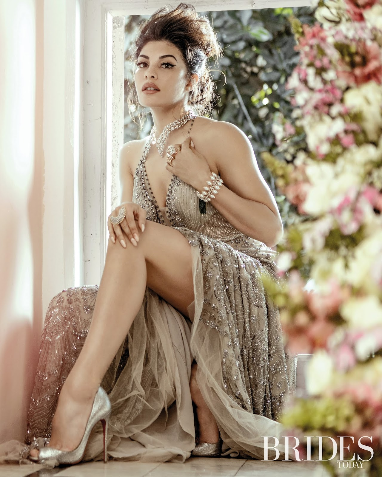 Jacqueline Fernandez Sizzles on the April 2019 Cover of Brides Today