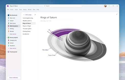 Microsoft annuncia un corposo rinnovamento per OneNote