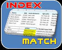 Penjelasan Rumus Excel INDEX MATCH