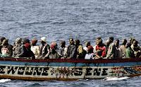 Нелегальные мигранты на Канарских островах