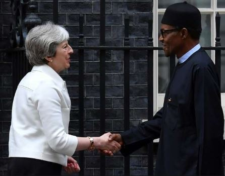 UK Prime Minister, Theresa May kick off her first trip to African continent with a visit to Nigeria, South Africa and Kenya
