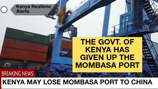 Pemerintah Kenya Terancam Kehilangan Pelabuhan karena Utang ke China