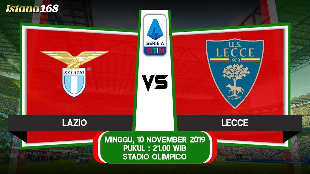 Prediksi Lazio vs Lecce 10 November 2019
